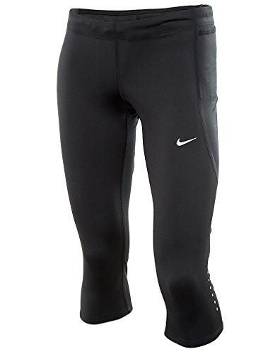 Nike Women's Dri-Fit Tech Capris, Black, Small