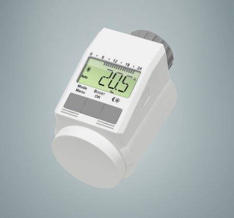thermostat de radiateur classiqueL avec fonction boost + Lot de 2 nouveau mod/èle silencieux
