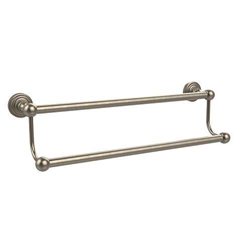 Allied Brass 24 Double Towel Bar Antique Pewter [並行輸入品] B078XLWNBD