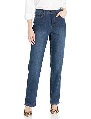 Gloria Vanderbilt Women's Petite Amanda-Classic Straight Leg Jean, Scottsdale Wash, 10P