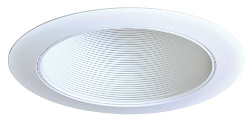 Halo Coilex 6 In. White Recessed Trim Ring and Baffle 310W ()