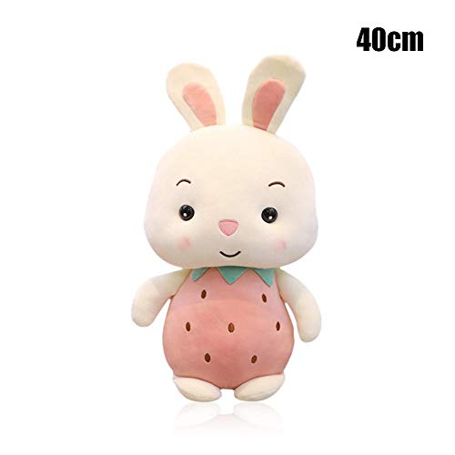 Cute Stuffed Toy - Sweet Pig Rabbit Strawberry Rabbit Pineapple Pig Plush Toy, Holding Sleeping Doll Pig Year Mascot Super Soft Pillow, Best Perfact Gifts for Girls Boys -  Gorge-buy, JD0084812jYsI