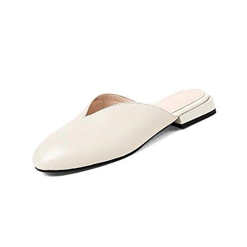 Bianca Tacchi Baotou da Donna 36 Dimensioni Shoe Retro Alti Colore Casual Scarpe da store Alti Donna Air Pantofole wqn8ZRHX