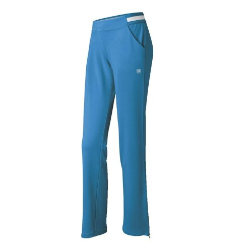 Wilson Pantalones de pádel para mujer, tamaño XS, color azul/blanco: Amazon.es: Ropa y accesorios