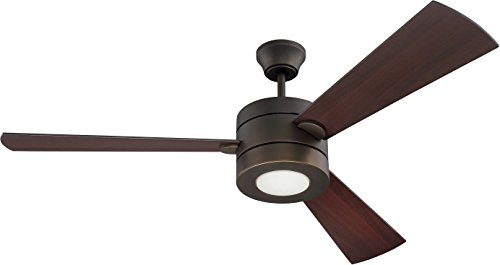 Craftmade TRI54ESP3 54`` Ceiling Fan w/Blades and Light Kit