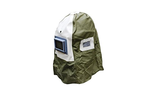 Varan Motors NESBM-02 SAND BLASTING HOOD BUILT IN SAFETY HELMET SANDBLASTING HOOD SAFETY HELMET