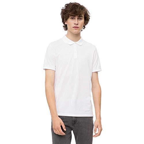Calvin Blanc Klein M Polo Homme rw0nrStBqz