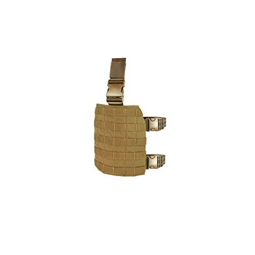 Condor Drop Leg MOLLE Platform - Coyote Brown (Best Drop Leg Platform)