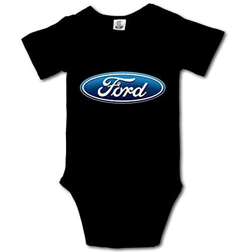 Logo Infant Bodysuit - Ford Logo Baby Onesies Boys Girls Bodysuit Infant Jumpsuit
