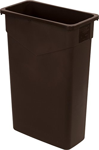 Carlisle 34202369 TrimLine Rectangle Waste Container Trash C