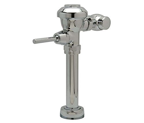 Valves Exposed Manual 1 Flush (Zurn Z6000AV-1-HET Aqua Vantage AV Exposed Manual Diaphragm Flush Valve for 1-1/2