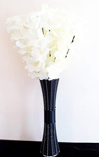 Amazon UK & Homestreet Very Tall Light up Flowers and Vase Display LED ...