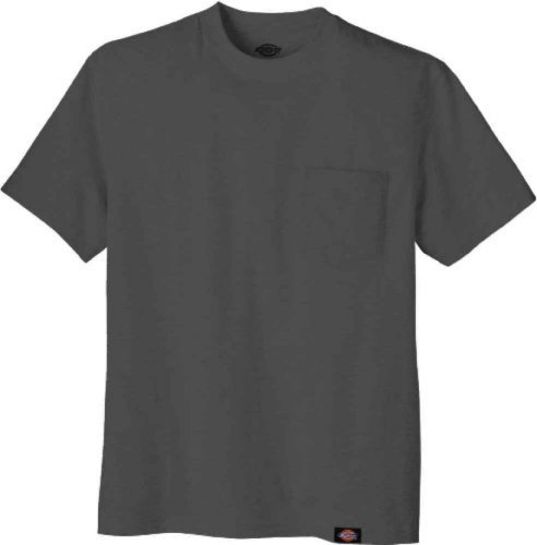 Dickies Men's Short-Sleeve Pocket T-Shirt Charcoal ,X-Large Tall