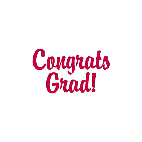 - Congrats Grad Graduation - Vinyl Decal Sticker - 10
