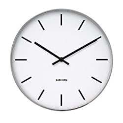 Present Time Karlsson Oversized Modern Wall Clock - Unique & Contemporary Big Wall Clock