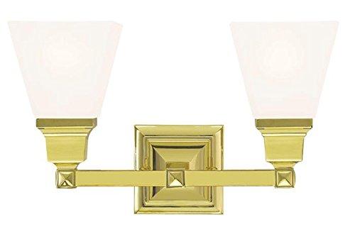 Satin Brass Crystal - 2