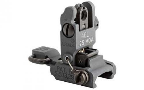ARMS Inc Low Profile Flip Up Rear Sight by Mars