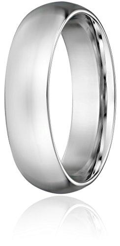 Standard-Comfort-Fit-Platinum-Gold-Wedding-Band-6mm