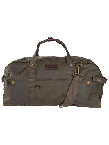 Barbour Holdall Waxed Cotton Bag - Olive (Olive) from Barbour