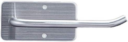 GONDD ペーパータオルホルダー浴室フリーパンチ304ステンレス鋼ティッシュホルダーキッチントイレットペーパーホルダー、シルバー、サイズ:14x7x5cm