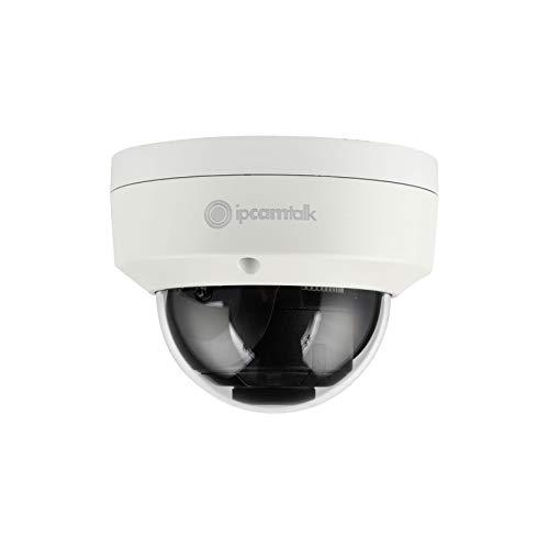- IP Cam Talk 8 MP(4K) IR Fixed Dome Network Camera, 2.8mm, IPCT-HDBW4830E-IS