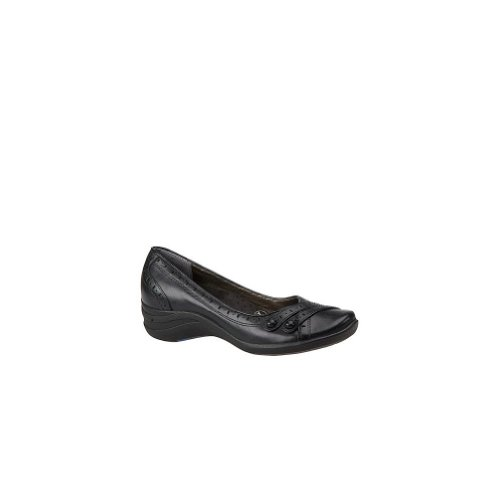 Las mujeres de Hush Puppies, Burlesque Slip On Shoe Negro