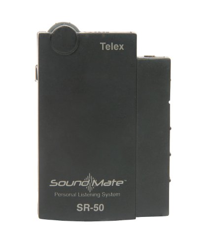 Telex SR-50 | Single Frequency Personal Receiver (Ch J 75.5)