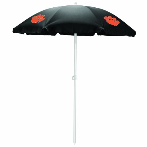 NCAA Clemson Tigers Portable Sunshade Umbrella