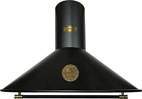 Kaiser 9423 Be Retro Campana extractora de pared 90 cm, campana de pared, lujo, fabricante Kaiser, 3 velocidades, 910 m3/h, iluminación LED, campana extractora, temporizador, guantes German Brand Award 2018, campana de