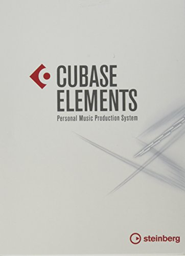 Steinberg Cubase Elements 9.5 Recording Software (Retail Box (Software Synthesizer)
