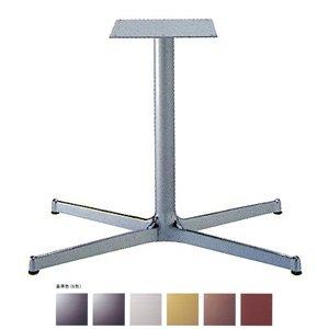 e-kanamono テーブル脚 SBL3950 ベース830x480 パイプ60.5φ 受座300x300 アルミクローム/塗装パイプ AJ付 高さ700mmまで 黒紛体塗装 B012CF5D2U 黒紛体塗装 黒紛体塗装