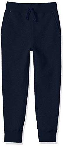 Amazon Essentials Little Boys' Fleece Jogger, Navy, S