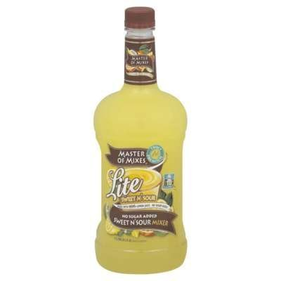 - Master of Mixes Lite Sweet N Sour Mix, 1.75 Liter -- 6 per case. by Master of Mixes