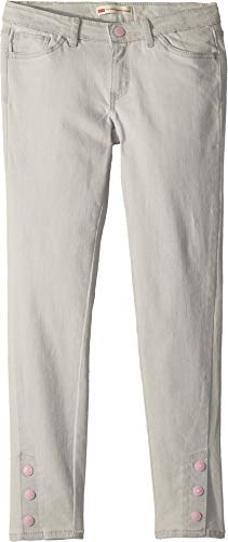 Levi's Girls' Big 710 Super Skinny Fit Jeans, Silver Light, ()