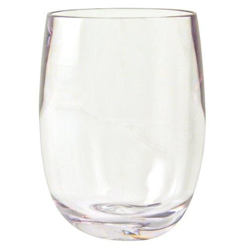 Strahl Design+Contemporary Osteria 13-Ounce Stemless Wine Glass, Set of - Glasses Design