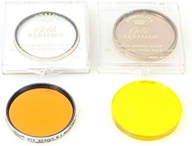 3 Yellow Orange 81B Series VI 6 FILTERS 4 Portrait