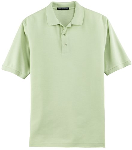 Port Authority Silk Touch Sport Shirt  K500  Available In 27 Colors 3X Mint Green