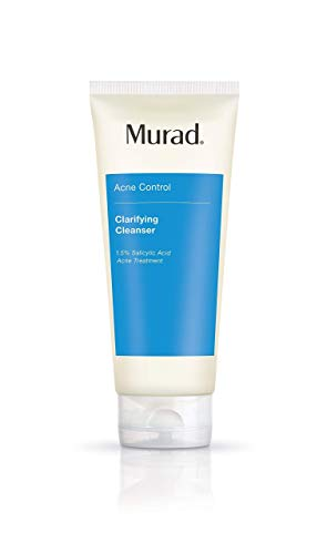 Murad Acne Control Bundle ($76 Value) with Outsmart Acne Clarifying Treatment - Gentle Gel Serum with Salicylic Acid (1.7 Fl Oz) and Clarifying Cleanser with Salicylic Acid (6.75 Fl Oz)