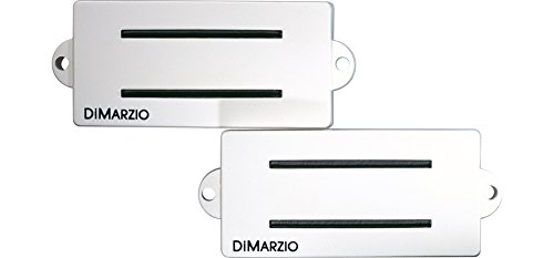 DiMarzio DP127 Split P Replacement Pickup for Fender P Bass White from DiMarzio
