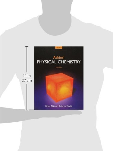 Atkins physical chemistry amazon peter atkins julio de atkins physical chemistry amazon peter atkins julio de paula 8601405300287 books fandeluxe Image collections