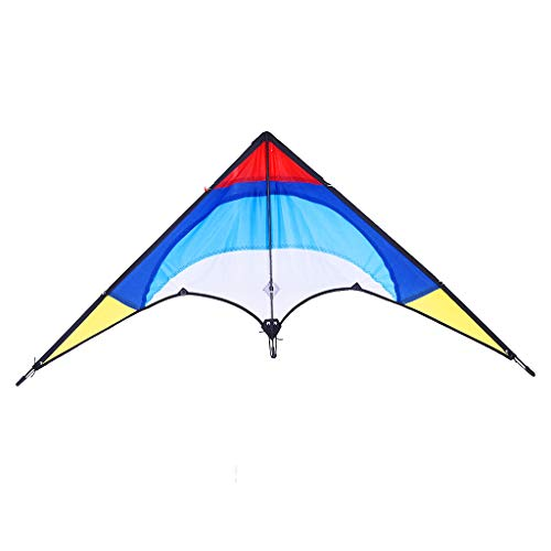 Clearance Sale!DEESEE(TM)Outdoor Fun Double-line Flying Fish Reproduce Stunt Kite Beginners Must