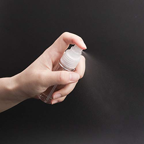 7Pcs Mini Travel Bottles Leak Proof Portable Travel Plastic bottles(transparent) Travel Accessories Small bottles