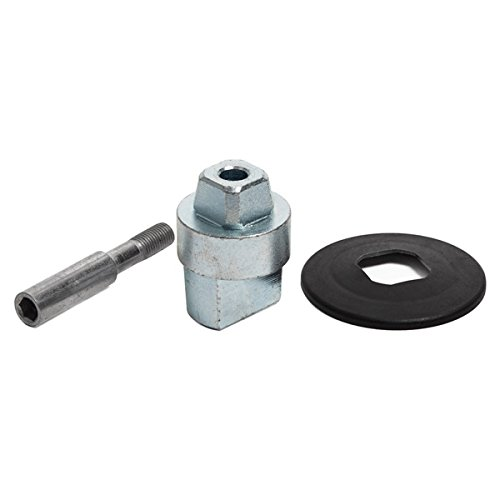 """CRL Floor Mounted Closer 1//2/"""" Collar Height Tapered Type Spindle 12.7mm"""