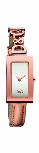D&G Dolce&Gabbana DW0266 – Reloj analógico de mujer de cuarzo – sumergible a 30 metros