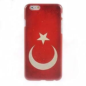 SOL Turkish Flag Design Hard Case for iPhone 6 Plus