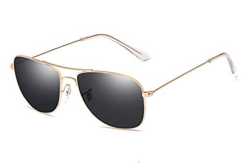 macho gafas guía TL aleación de pesca gold de gris de Sunglasses gafas gray de Gafas hombre plata UV400 sol t88q6p
