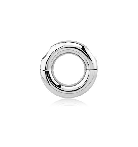 Bubble Body Jewelry Surgical Steel Screwed Smooth Segment Ring 8mm Gauge 0g (Smooth Segment Rings)
