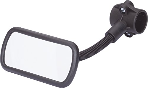 HR Imotion HR 10411101 Bicycle rear view Mirror 55 x 115 x 210 mm/2,2 x 4,6 x 8,1 inch - with adjustable gooseneck Made in Germany by HR Imotion