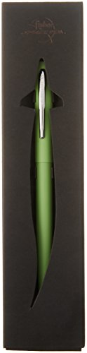 Fisher Space Pen M4 Series, Lime Green Cap and Barrel, Chrome Clip (M4GRCT) -