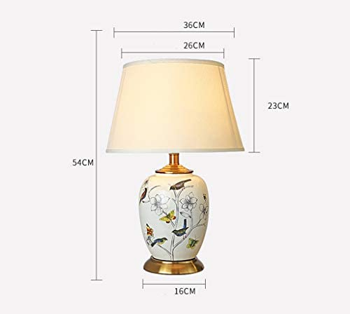 1. Table Lamp Ceramic Retro Living Room Bedroom Bedside Lamp 2.